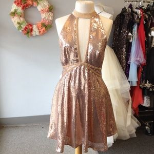 Nwt sequin Free People Cocktail dress